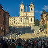 The Spanish Steps were closed for renovations