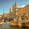 The fountain in Piazza Navona