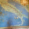 Italy's representation in the Map Room