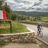 Climbing into Radda in Chianti