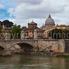 The Tiber near the Vatican
