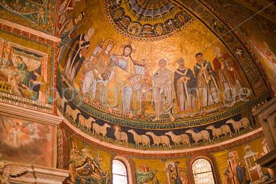 Santa Maria in Trastevere-mosaics