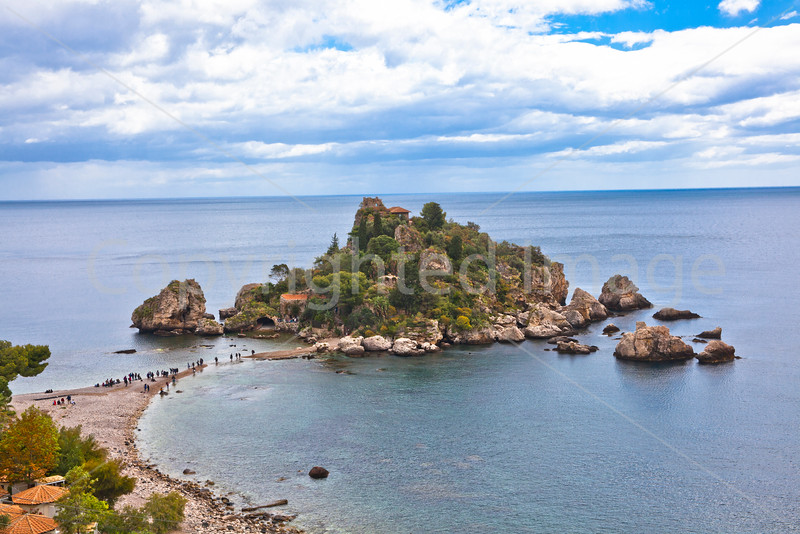 Isola Bella, off the coast of Sicily at Taormina