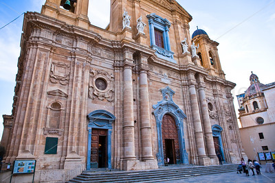 The Cathedral in Marsala