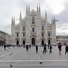 Milan Cathedral (Duomo di Milano) - the 5th largest Christian church in the world, has 3,400 statues. It was started in 1386 and is undergoing continuous restoration and cleaning.