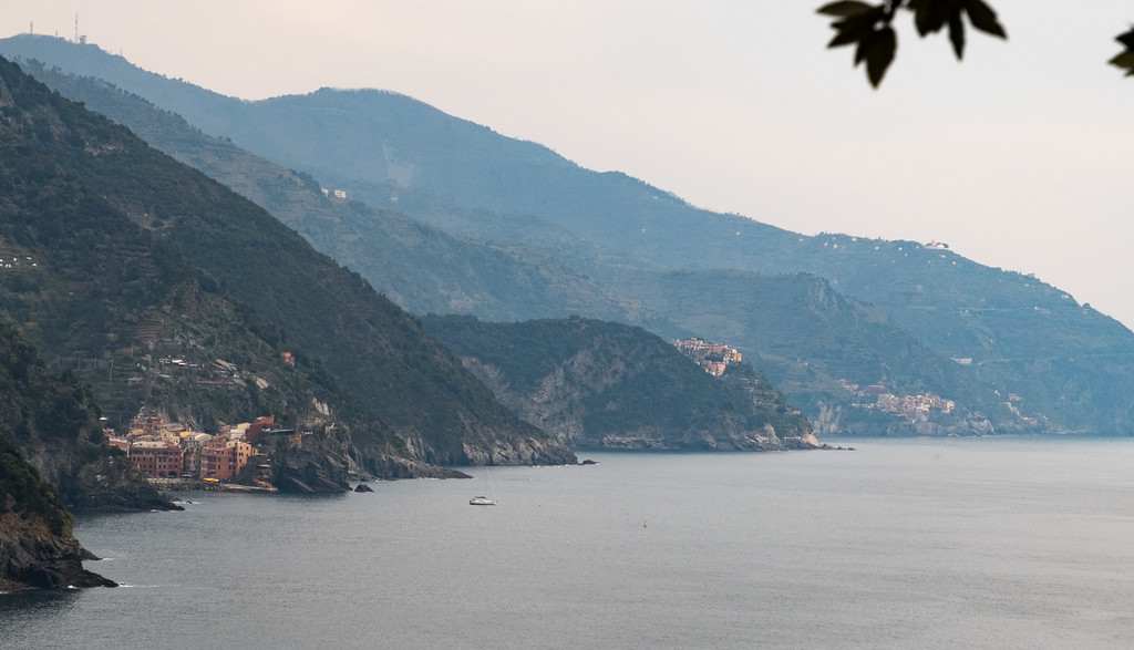 All of the cinque terre in this photo