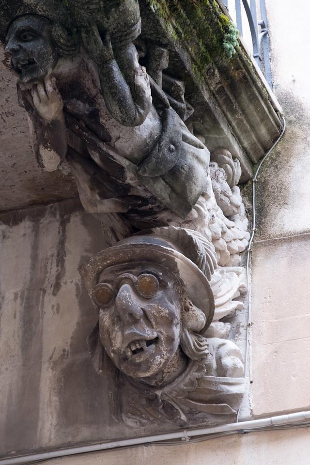 Baroque corbels