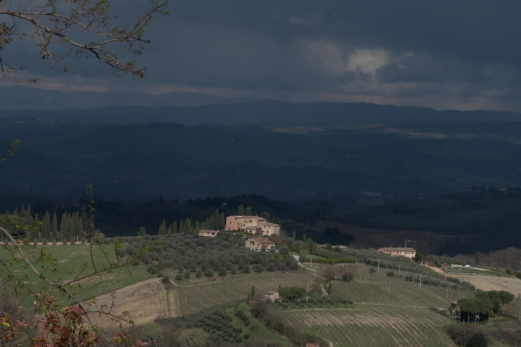 Typical Tuscan view