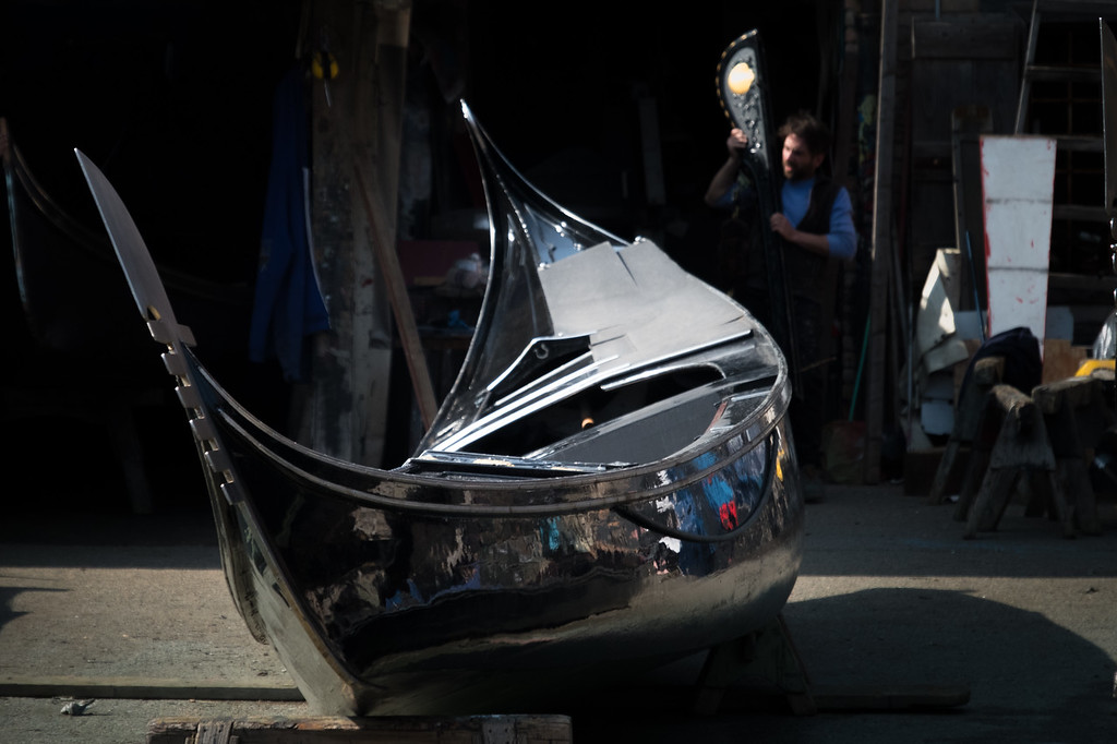 Cars have repair shops; so do gondolas