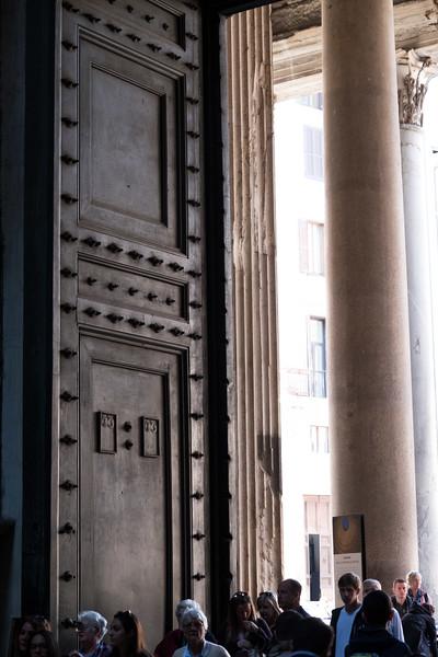 Pantheon doors