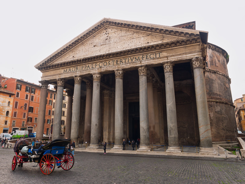 The Pantheon Piazza