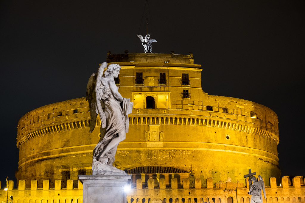 Castel Sant'Angelo- a weird multilayer cake