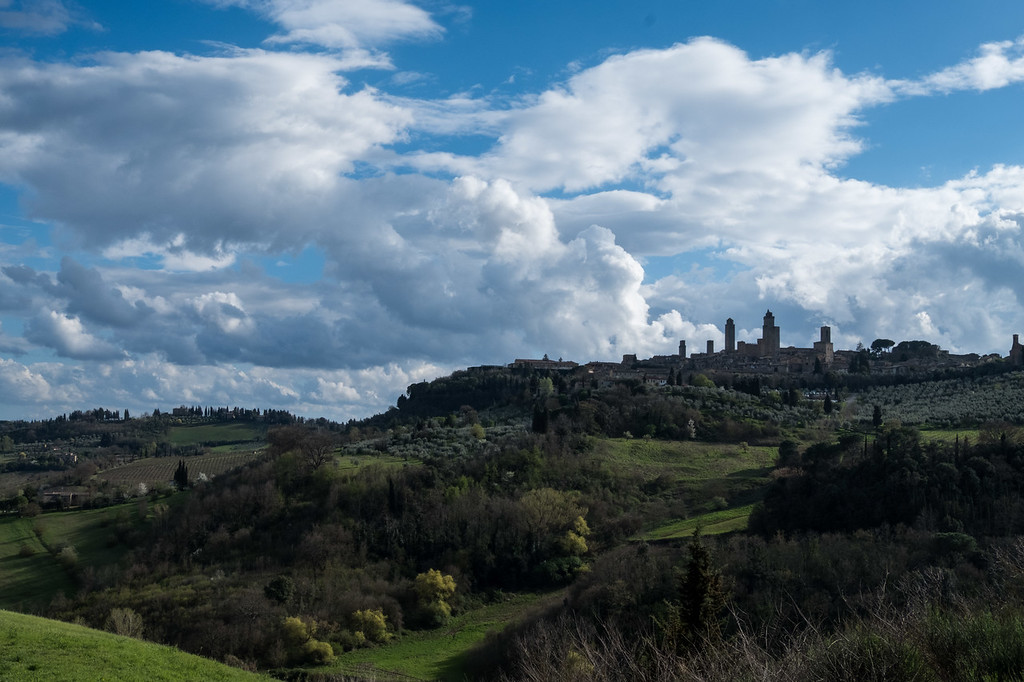 San Gimignano from afar