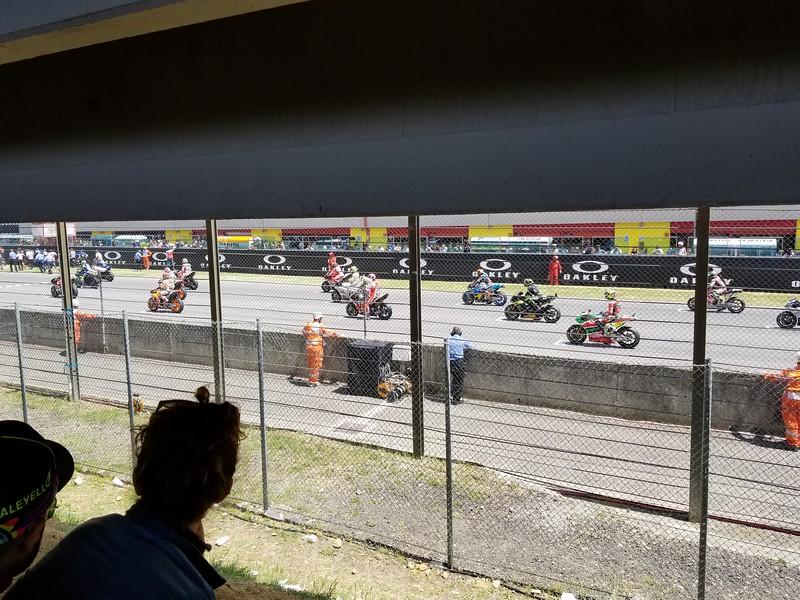 Mugello starting grid
