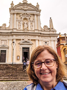 Sallie in Santa Margherita, Italy