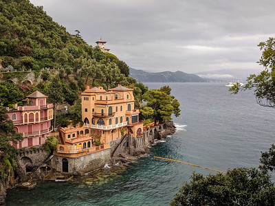 On Hike to Portofino