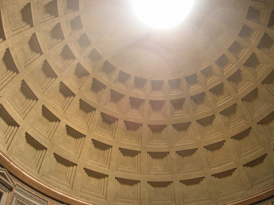 Ceiling of the Pantheon.