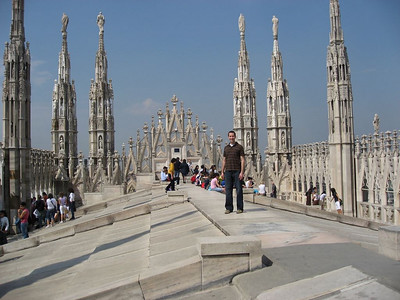 Me on top of the Duomo