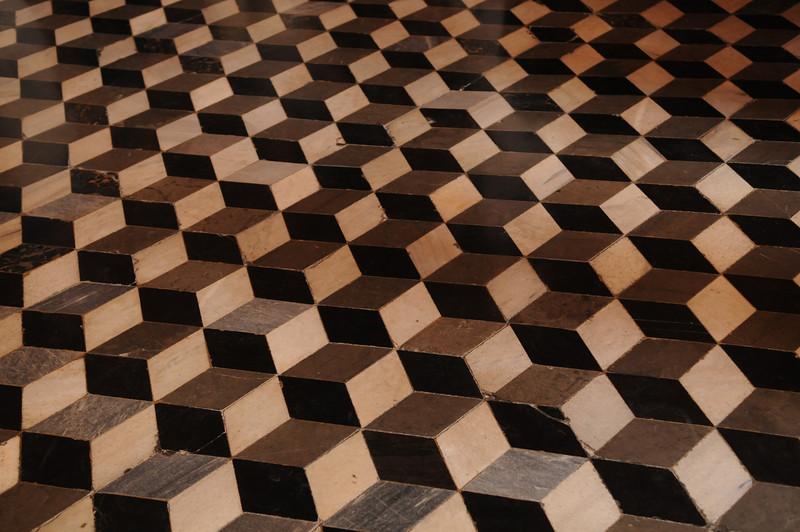 Interesting (800 year old) marble floor.