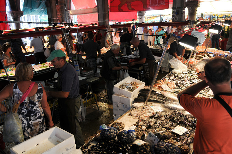 The fish market was amazing too.