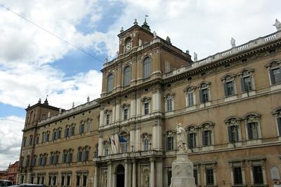 Modena's imposing military academy
