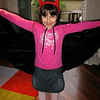 Matilde showing off her dance-recital outfit
