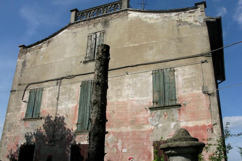 Cavezzo's oldest house