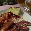 Salumi plate, including the local prosciutto of course