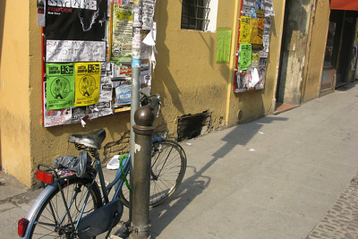 Bologna, near the university