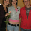 The Romanian girl and Albanian guy who bought me a rose for our anniversary that day