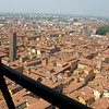 The red roofs of Bologna, from 334 feet