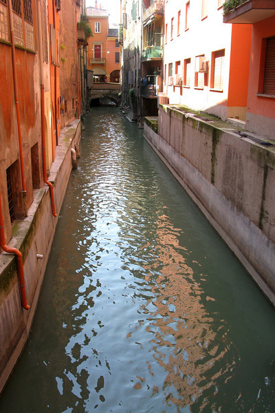 One of Bologna's hidden canals