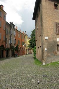 A pretty, quiet piazza