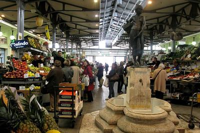 Modena's famous indoor market, Mercato Coperto