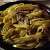 Tagliatelle with porcini mushrooms