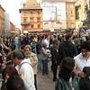 Lots of vendors set up shop in Piazza del Nettuno.