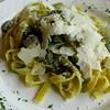 Tagliatelle, porcini, Parmigiano