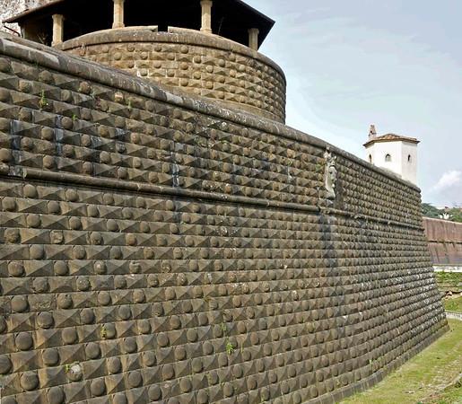 Fortezza da Basso, Florence, 14 April 2015.  NB the impressive stonework.