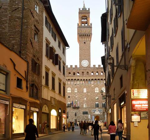 Palazzo vecchio, Florence, 14 April 2015