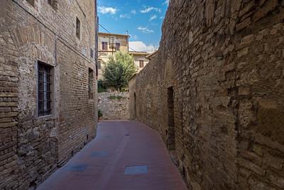 Street in San Gimignano