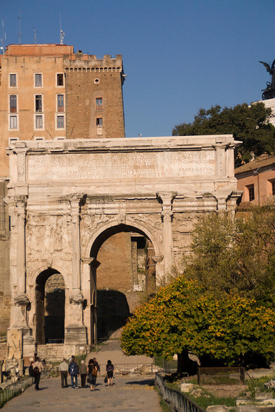 The Arch de Triomphe of Rome