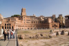 "The first ""shopping center"" was part of the Roman Forum over 2000 years ago."