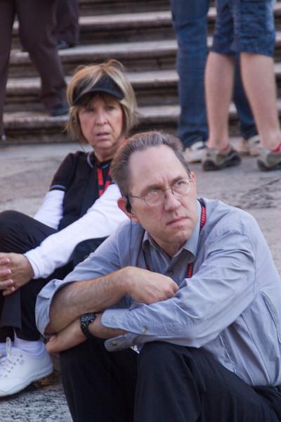 Rocky & Carol take a rest.
