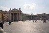 Scene 1 of a rough panorama of the Vatican & St Peter's Basilica.