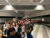 The line to customs at Malpensa International, Milan. We did carry on so we were at the front, mostly.