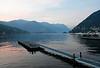 Lake Como, 10 June 2015.  Looking north from Como.