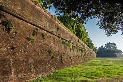 Roman Wall surrounding the city