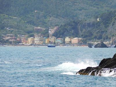 A view of Monterosso al Mare to the north