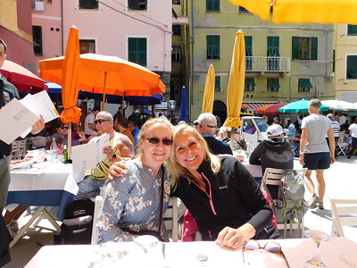 First stop:  lunch at Ristorante Gianni Franzi