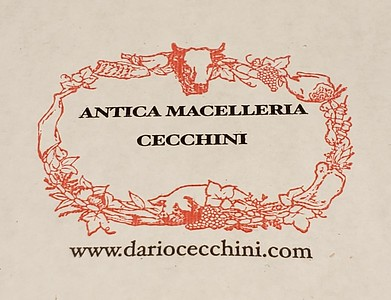 The ancient butcher shop of the Cecchini family